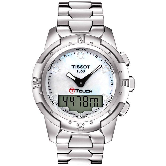 Дамски швейцарски часовник TISSOT T-Touch 2 T047.220.44.116.00.