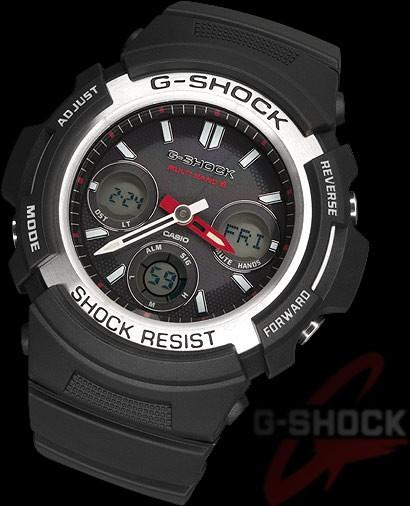 CASIO G-SHOCK WAVE CEPTOR SOLAR AWG-M100-1AER