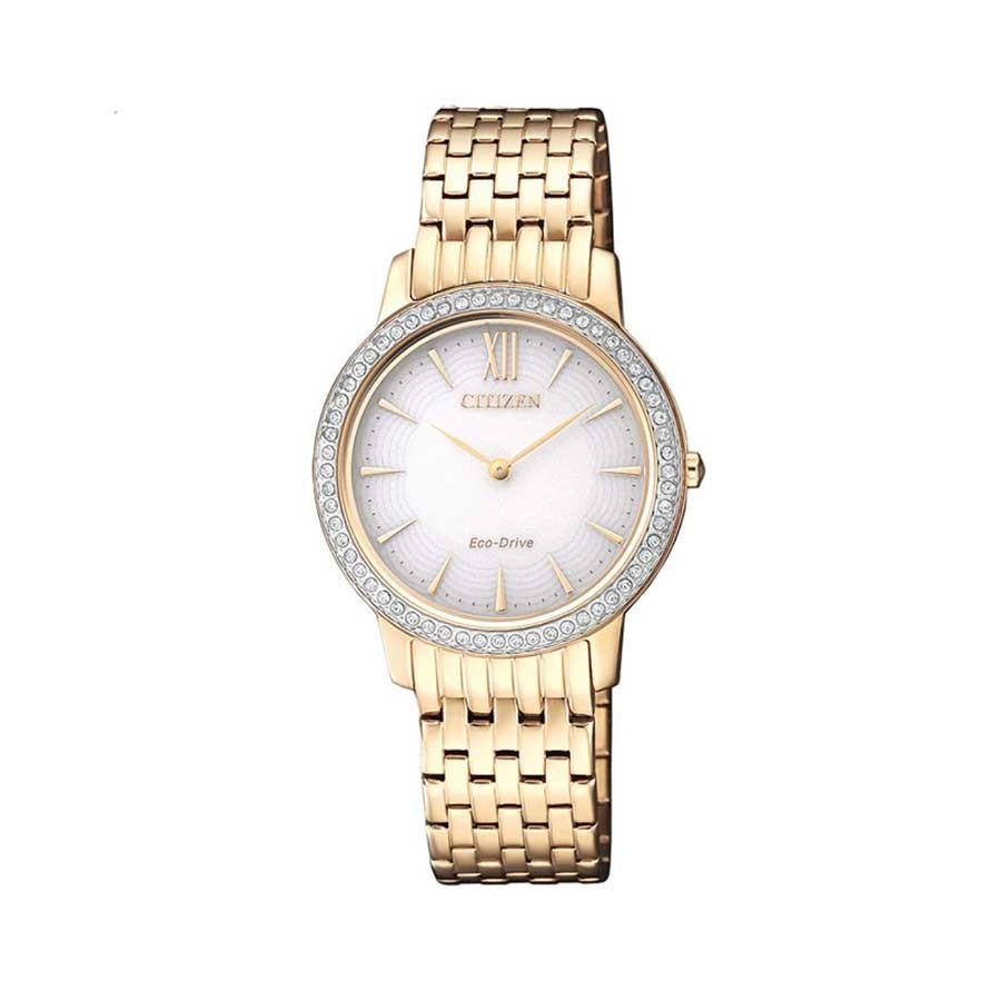 CITIZEN Eco-Drive Elegance Ladies Watch EX1483-84A